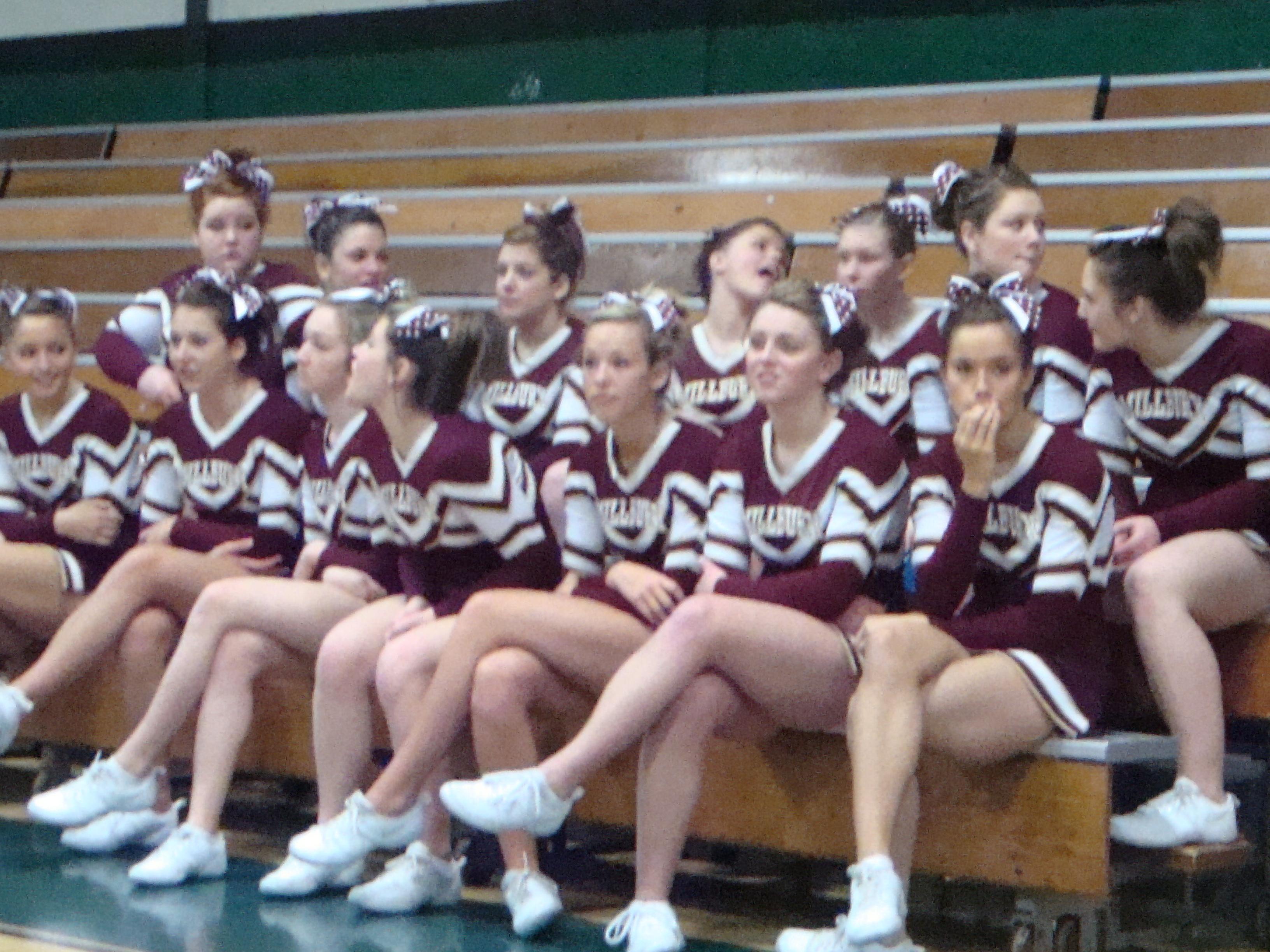 Junior High School Cheerleaders Candid - Hot Girls Wallpaper