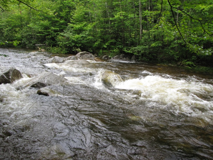 Lost River rapids