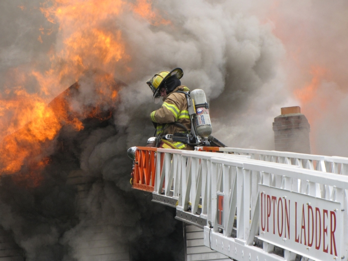 Leland Street fire 2009