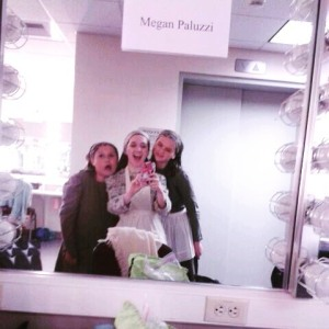 Stolen selfie by Megan Paluzzi, center.